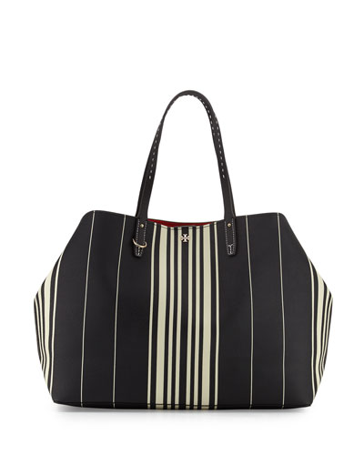 Kerrington Striped Square Tote Bag