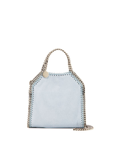 Falabella Tiny Tote Bag, Blue