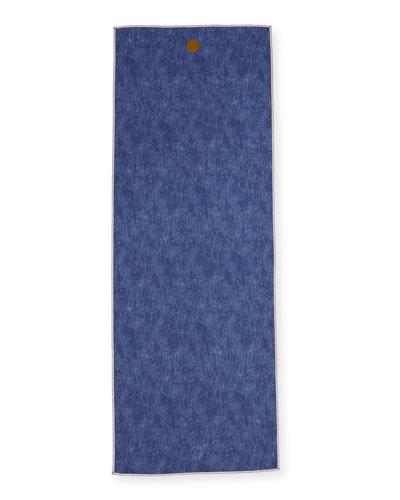 Yogitoes 68 Yoga Mat Towel, Indigo Denim