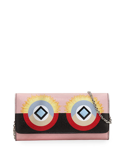 Monster Tube Wallet-on-Chain, Pink/Black