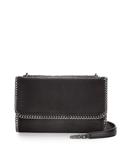 Falabella Convertible Shoulder Bag, Black