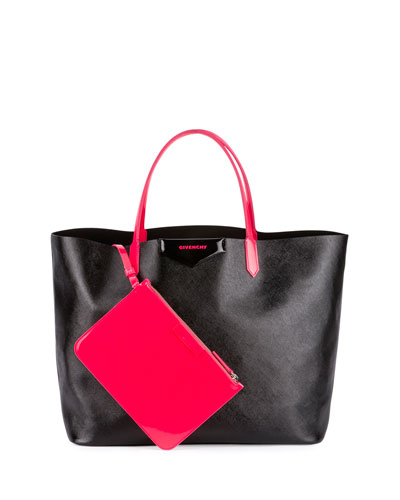 Antigona Large Fluorescent Shopper Bag