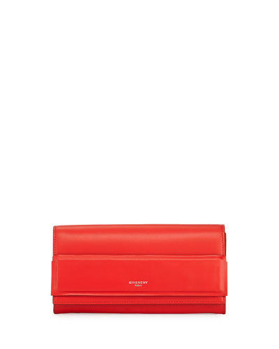 Horizon Continental Flap Wallet, Red