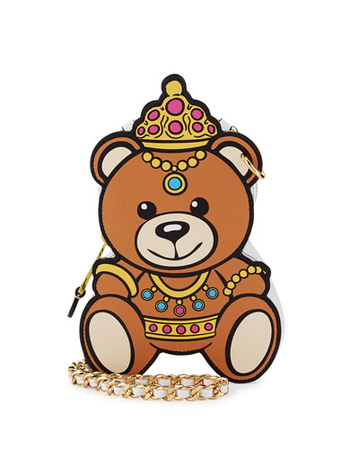 Princess Bear Chain Shoulder Bag, Multi