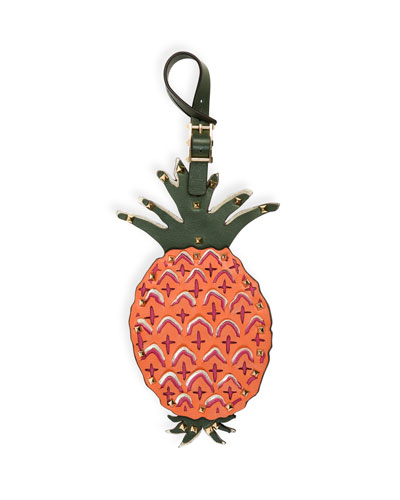 Tropical Dream Pineapple Luggage Charm, Multi
