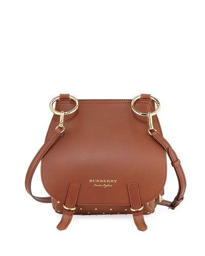 Bridle Baby Velvet & Snakeskin Shoulder Bag, Tan