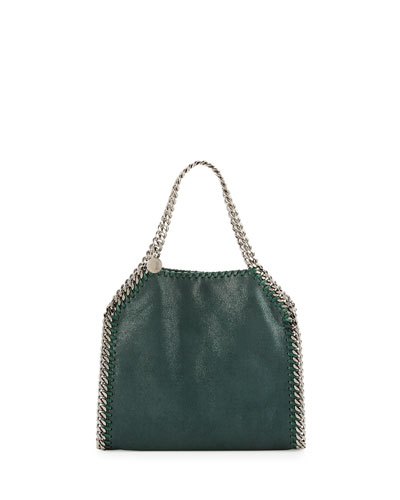 Falabella Mini Tote Bag, Charcoal Gray
