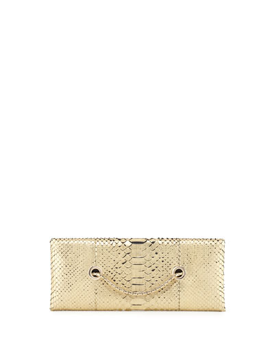 Python Chain Clutch Bag