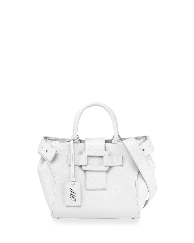 Pilgrim de Jour Small Tote Bag, White
