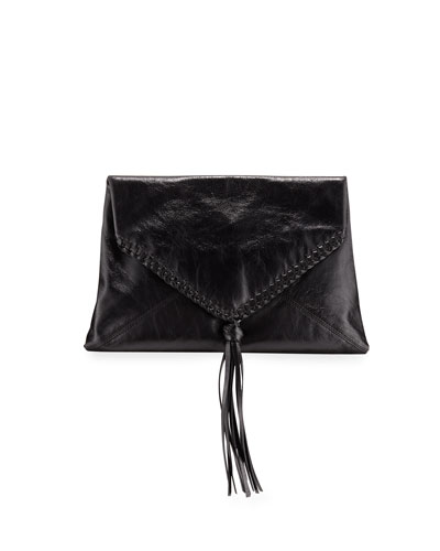 Envelope Clutch Bag w/Tassel