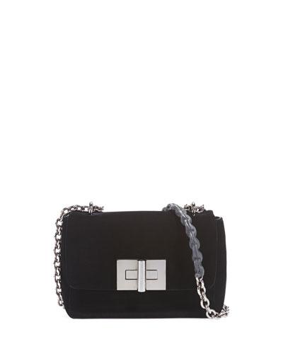 Natalia Velvet Crossbody Bag