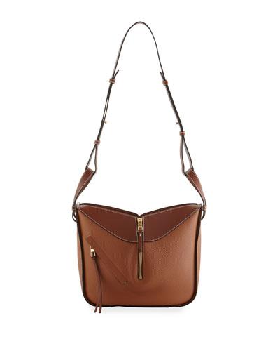 Hammock Small Crossbody Bag, Light Brown