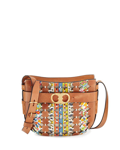 Gemini Link Cutout Shoulder Bag
