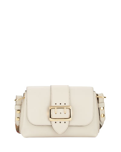 Medley Small Soft Grain Crossbody Bag, Beige
