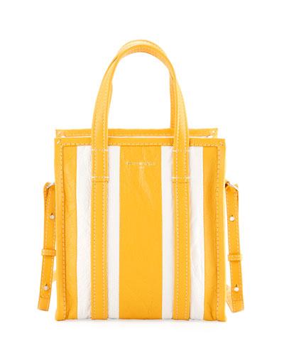 Bazar Striped Extra-Small Shopper Tote Bag