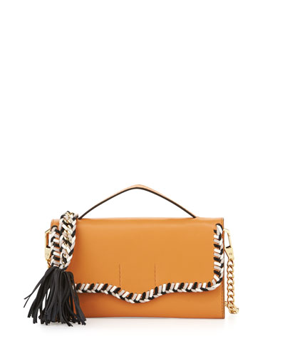 Chase Leather Phone Crossbody Bag