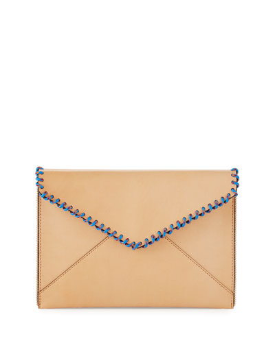 Leo Climbing Rope Envelope Clutch Bag