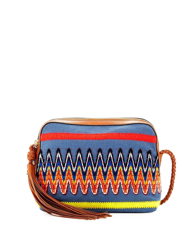 Taylor Embroidered Camera Bag