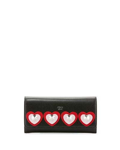 Heart Studs Wallet-on-Chain