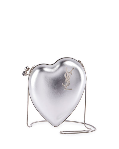 Love Box Clutch Bag, Gray