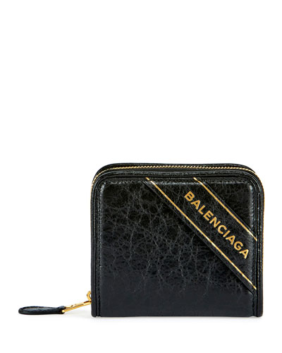 Blanket Arena Leather Billfold Wallet, Black