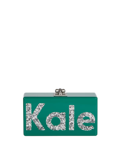 Jean Kale Acrylic Clutch Bag, Multi