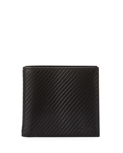 Bi-Fold Single Gusset Wallet, Black