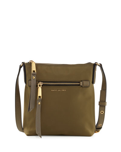 Trooper North-South Nylon Crossbody Bag