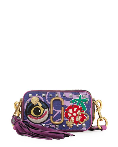 Tapestry Snapshot Crossbody Bag