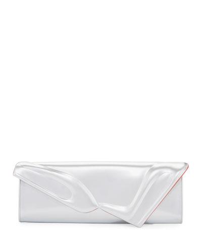 So Kate Specchio Baguette Clutch Bag, Silver
