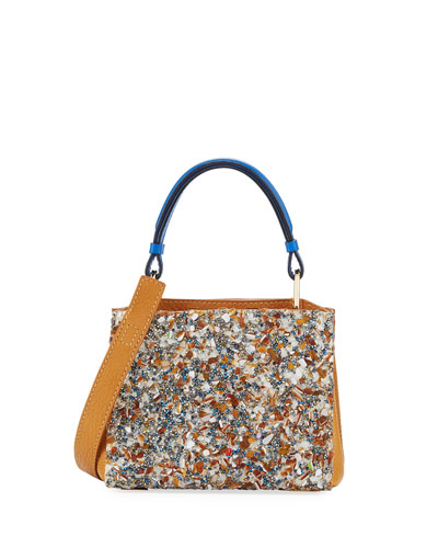 Seven 20 Crystal Embellished Tote Bag, Tan