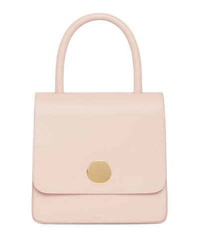 Posternak Smooth Leather Top Handle Bag