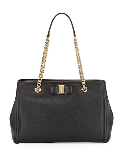 MeLike Vara Medium Tote Bag, Black