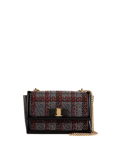 Ginny Medium Tweed Shoulder Bag