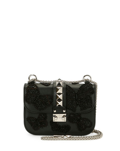 Black Leather Shoulder Bag | Neiman Marcus
