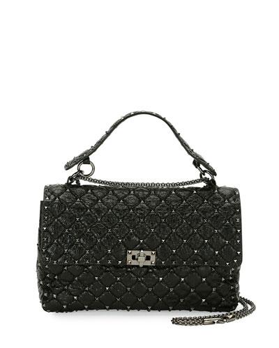 ba50e43571 Quick Look. Valentino Garavani · Rockstud Large Quilted Shoulder Bag