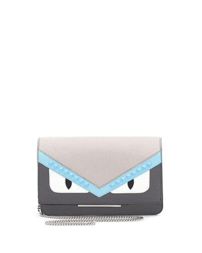 Monster Tube Wallet-on-Chain, Gray/Multi