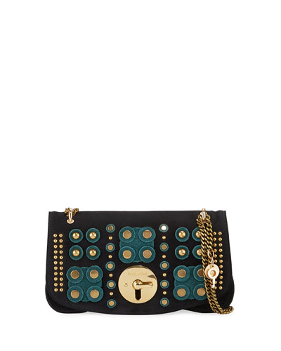 Medium Studded Chain Shoulder Bag