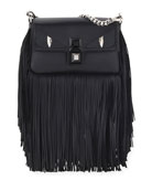 Fendi Baguette Monster Micro Fringe Shoulder Bag