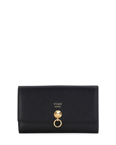 By The Way Continental Z-Fold Wallet, Black