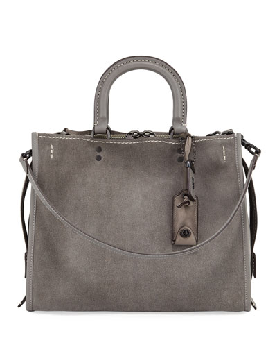Rogue Suede Shoulder Bag