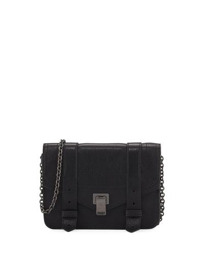 PROENZA SCHOULER Ps1 Wallet On A Chain in Black