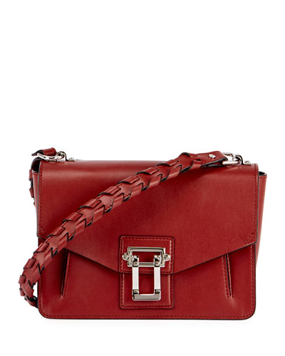 Hava Whipstitch Shoulder Bag, Maroon
