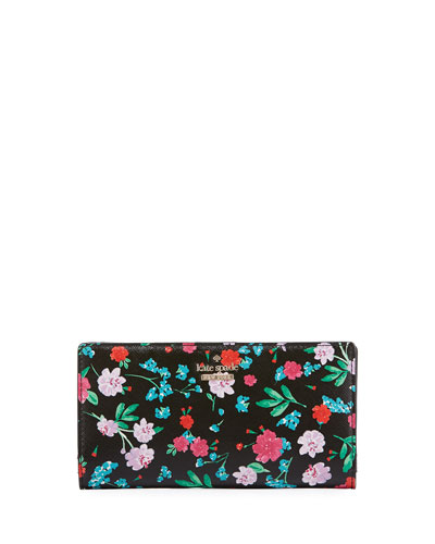 cameron street jardin stacy wallet, black