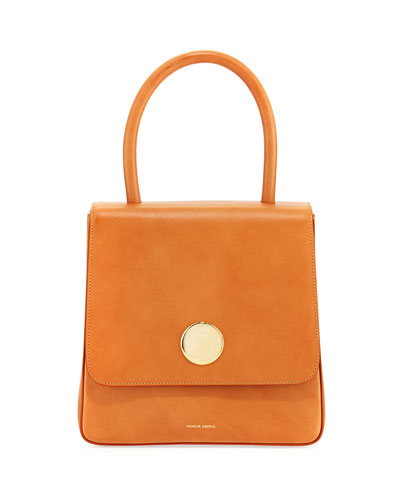 Posternak Vegetable-Tanned Leather Top Handle Bag