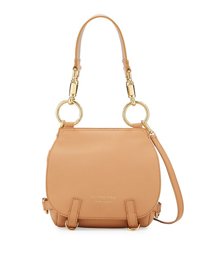 Bridle Small Soft Satchel Bag, Light Orange