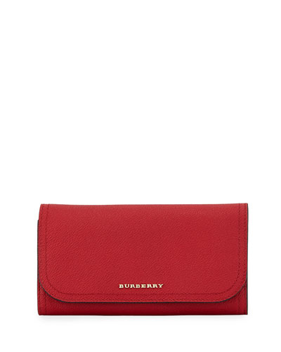 Kenton Soft Grain Leather Wallet, Red