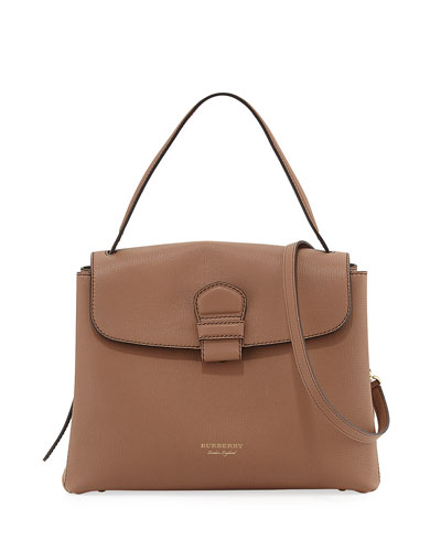 Camberley Medium Saffiano Tote Bag, Sand