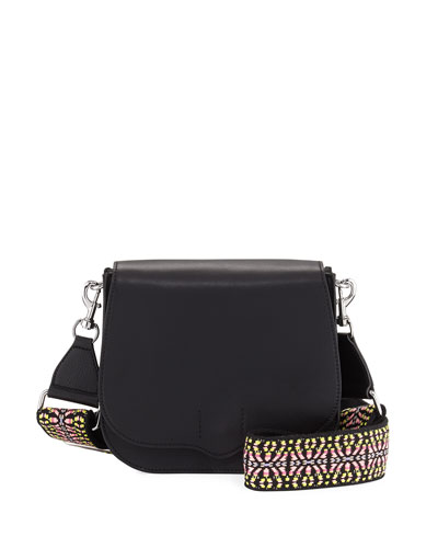 Sunday Camera Strap Saddle Bag, Black