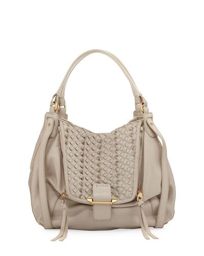 Jonnie Mini Woven Shopper Bag